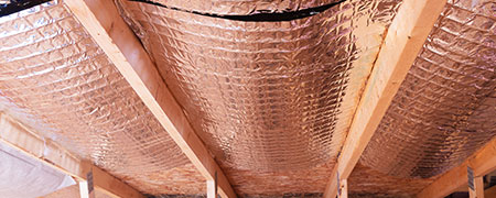 isolatie van houten vloer