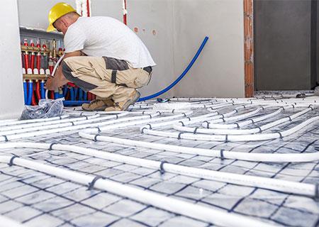 vloerisolatie combineren met vloerverwarming Valkenswaard